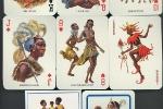 Редкие африканские игральные карты