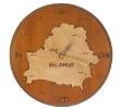 Часы с картой Беларуси