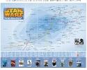 Карта Звездных воин