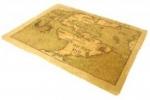 Карта коврик