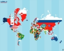 Карта флагов