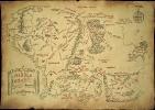Карта Бильбо Бэггинса