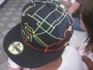 Карта на кепке