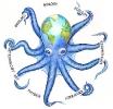 Карта осьминог
