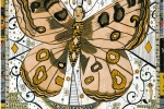 Карта бабочка