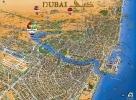 Карта Дубаи