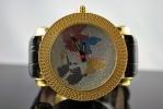 Наручные часы с картой