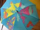 Зонтик с картой