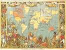 Карта Британской Империи 1986 года