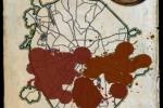 Декоративная карта Москвы