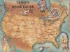 Карта коренного населения Америки