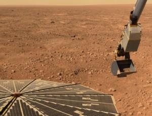 Фотография с поверхности Марса - Phoenix