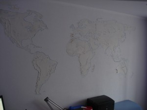 Карта на стене -3