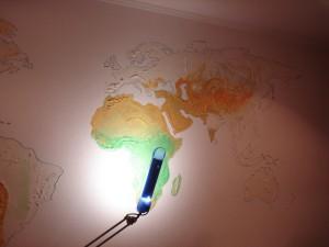 Карта на стене -5