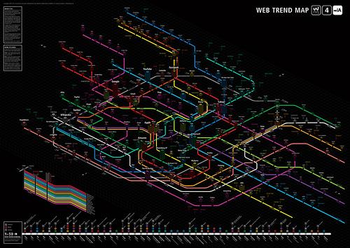 Карта интернета схема