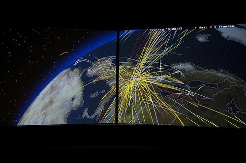 Визуализация воздушного трафика