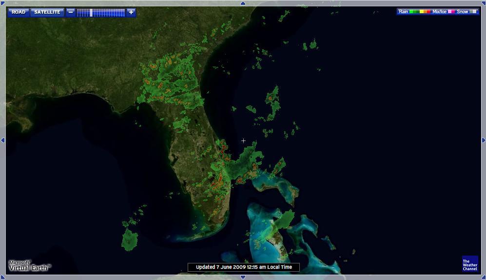 карта местности со спутника в реальном времени