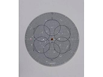 Лунная карта звездного неба