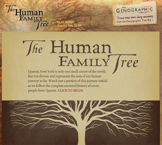Семейная карта человечества