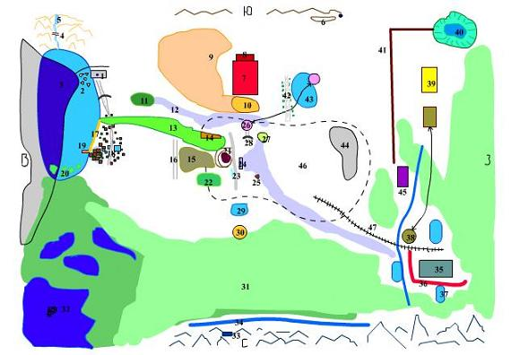 Карта Lenas