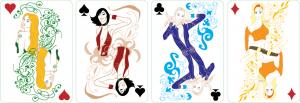 Фирменные игральные карты казино