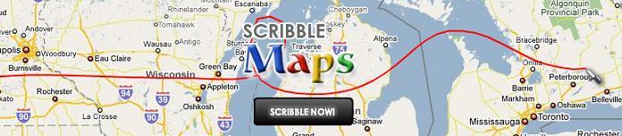 Каракули на Гугл картах