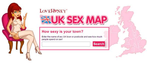 Сексуальная карта Англии