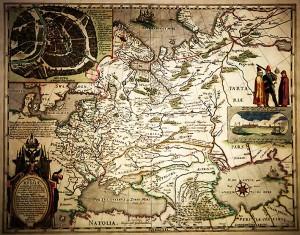 Карта России 1613г.