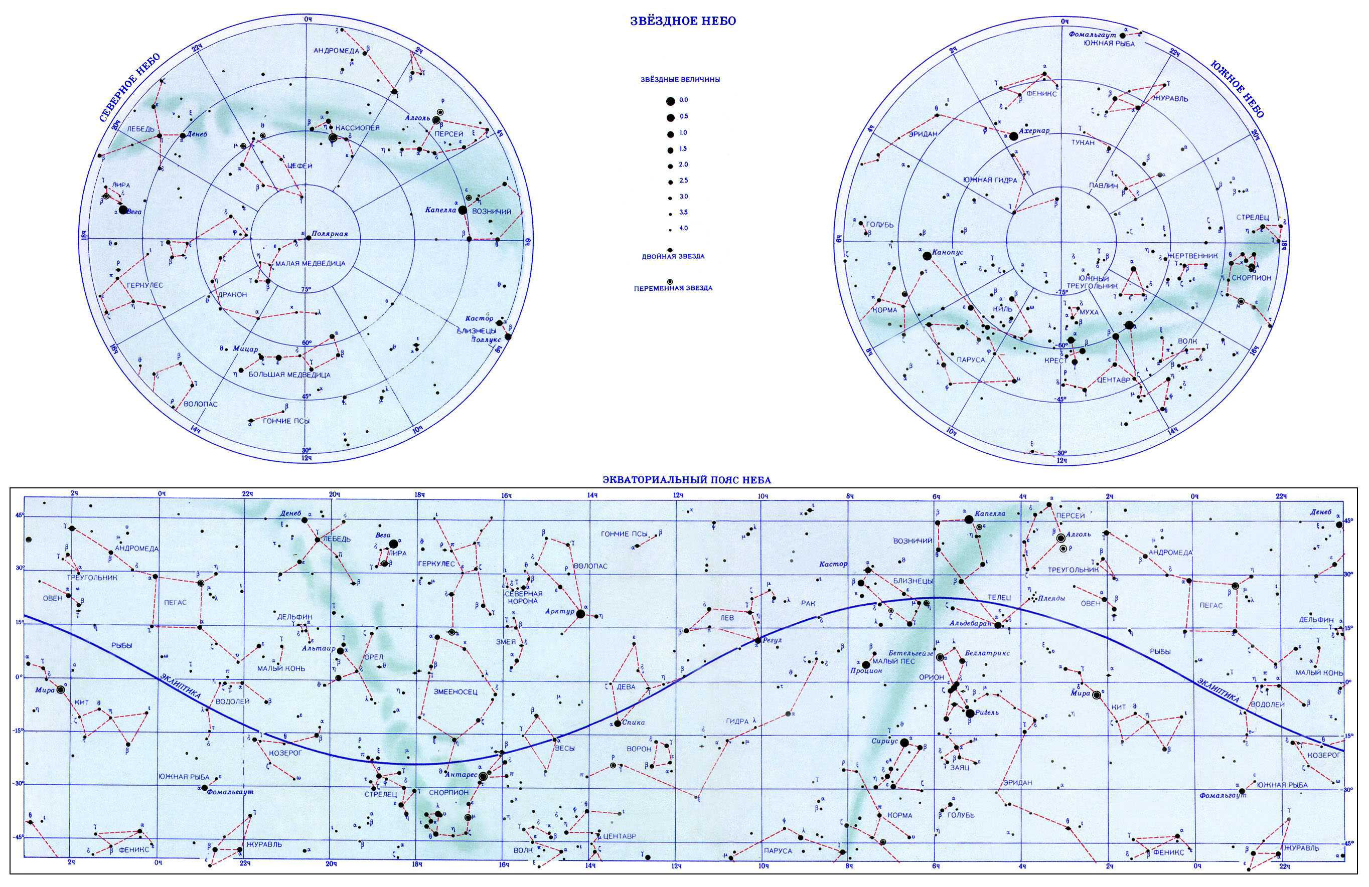 Звёздная Карта Неба