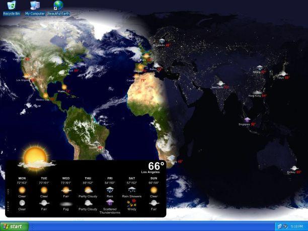 мир со спутника в реальном времени img-1