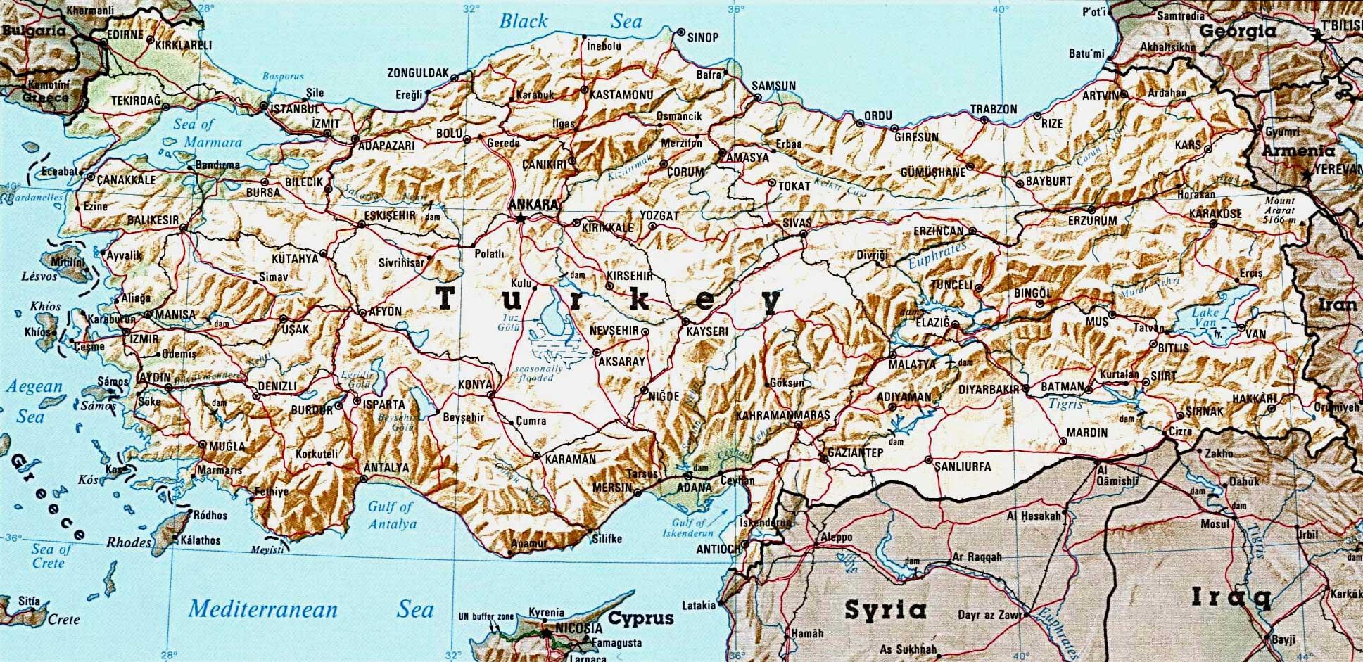 Спутниковая карта турции от яндекс