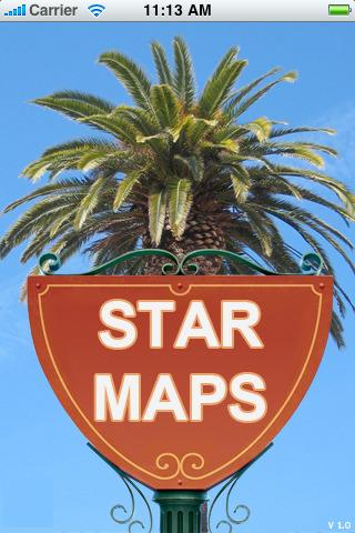 Карта домов звезд для iPhone