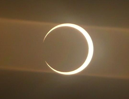 Снимок затмения от Даниела Фишера (Daniel Fischer)