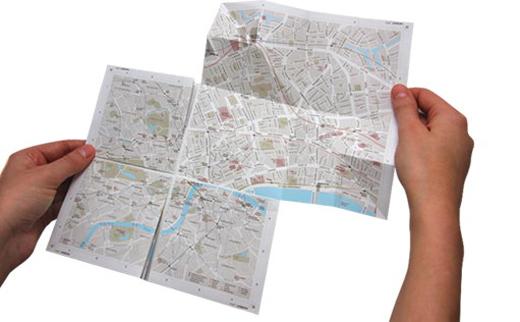 Раскрывающаяся карта