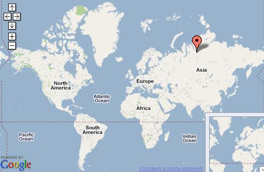 Карта морских портов