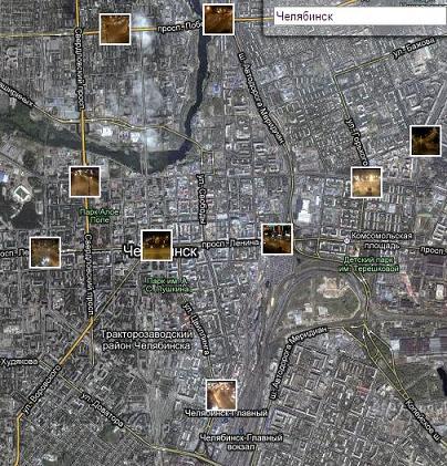 Просмотр улиц онлайн в реальном времени