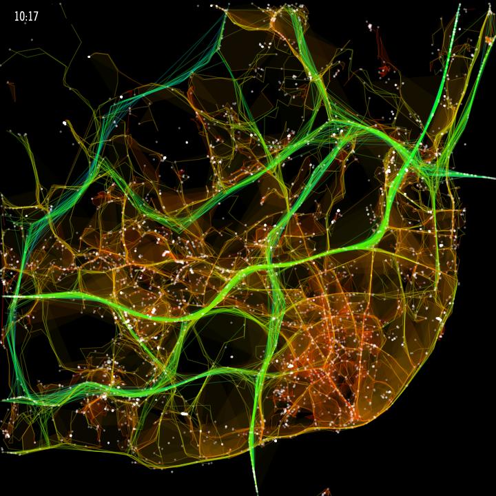 Карта такси
