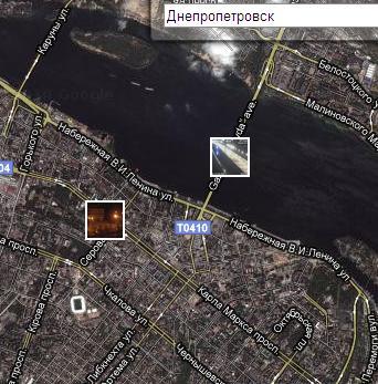 Днепропетровск в реальном времени