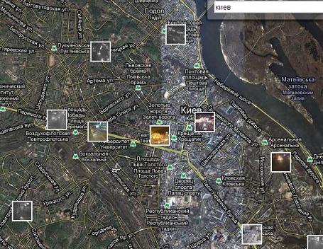 Киев в реальном времени
