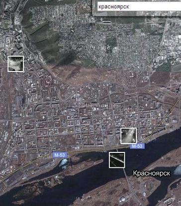 Красноярск в реальном времени