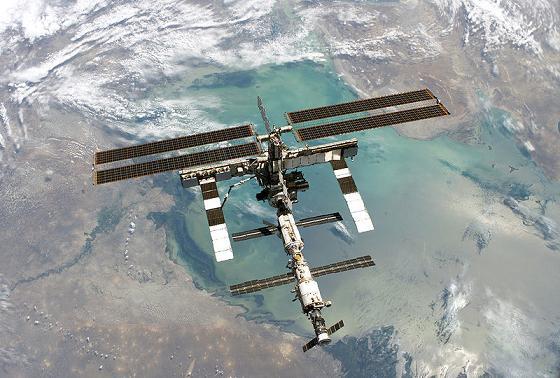 Международная космическая станция на фото
