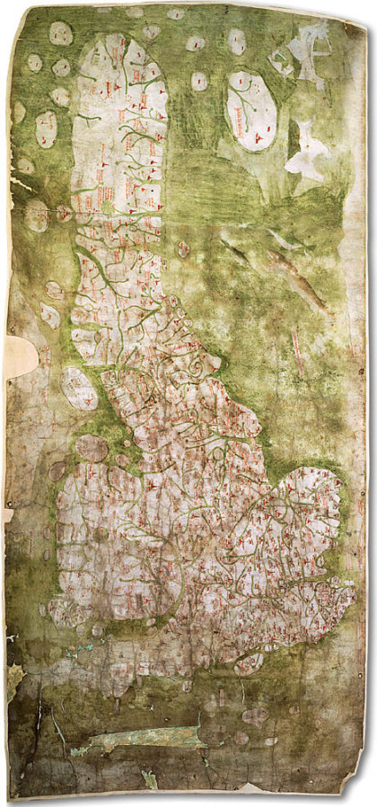 Старейшая карт дорог Англии
