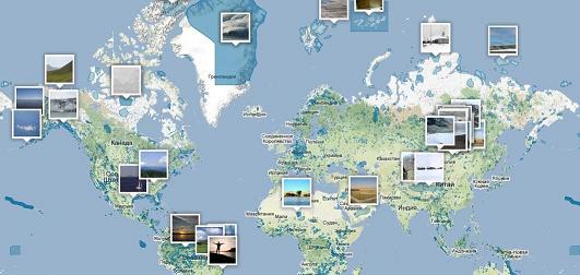 Карта заповедников Инфокарт - все карты сети