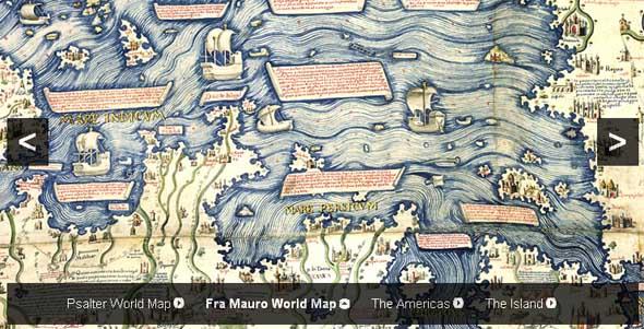 Величественные карты. Выставка