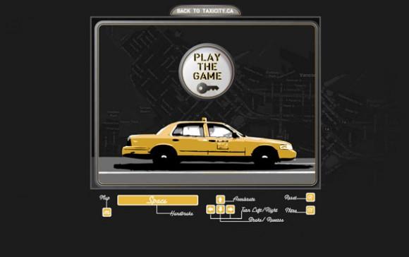 Город такси на картах Bing