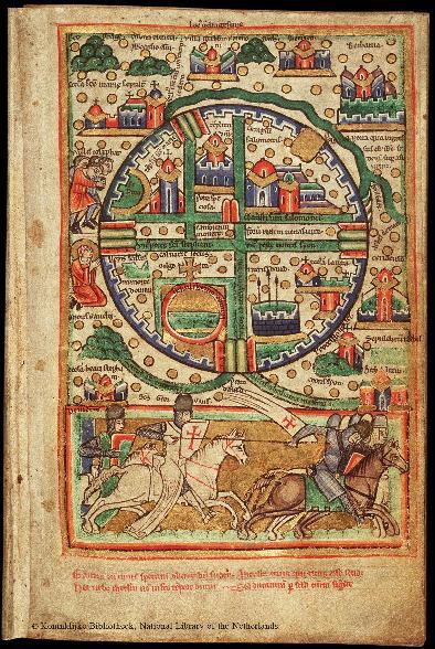 историческая карта 1200
