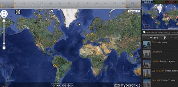 исторические карты крупных городов