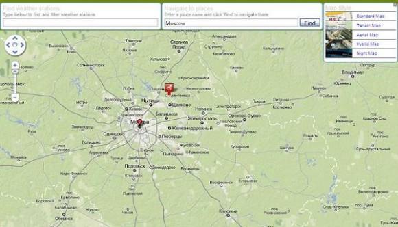 метеостанции Москвы