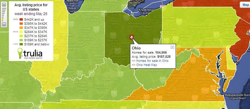 Цены на недвижимость в сша по штатам договор на покупку недвижимости за рубежом