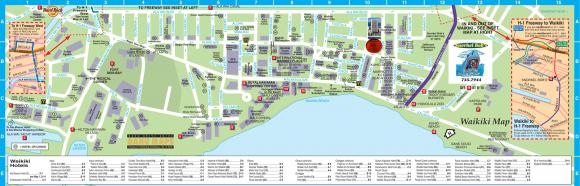 карта Вайкики